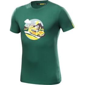 Mavic SSC Yellow Car T-Shirt Herr Petrol